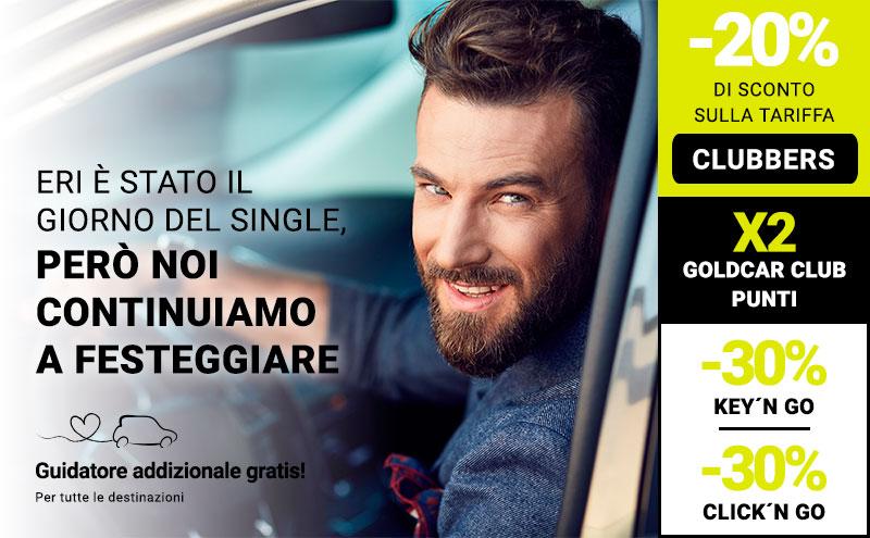 Auto Noleggio Singles day