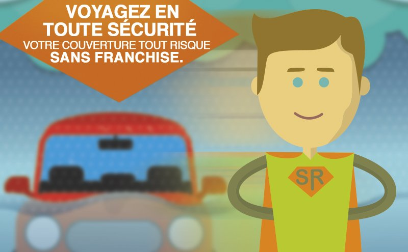 Location de voiture zero franchise