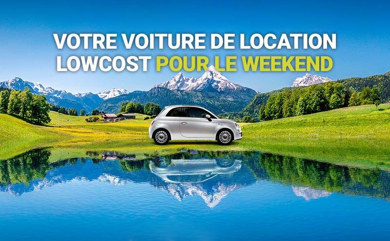 Location de voiture week end