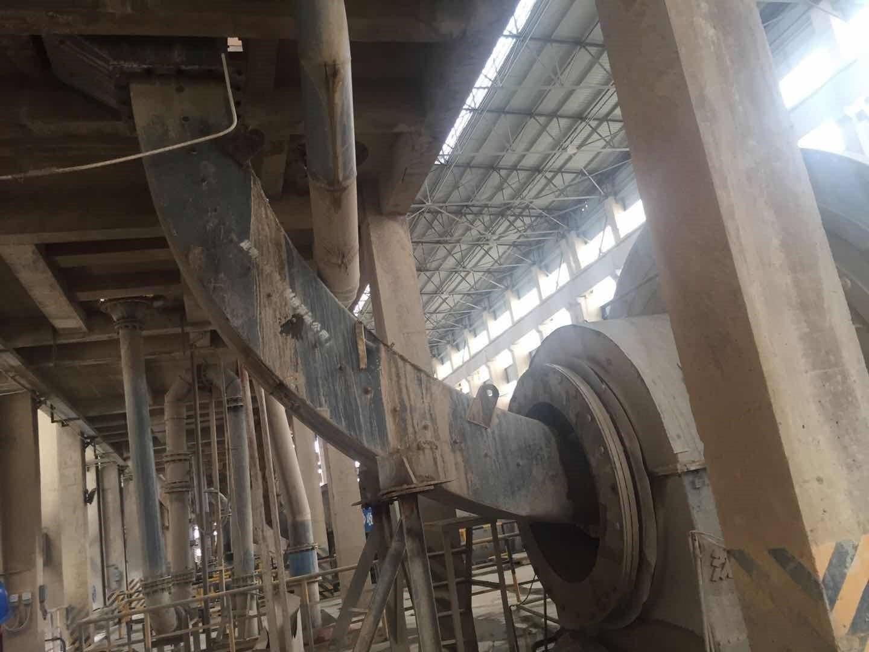 Duroxite 100 feeder liner plate in phosphate mine