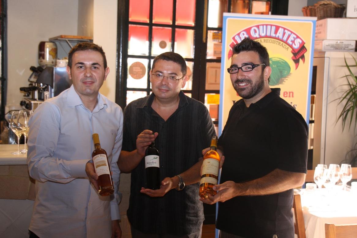 Pepe Ferrer, Paco Higón, Dani Cervera