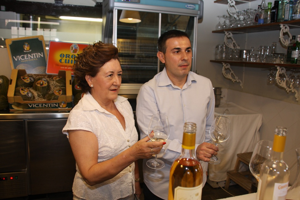 Rosa Peris y Pepe Ferrer