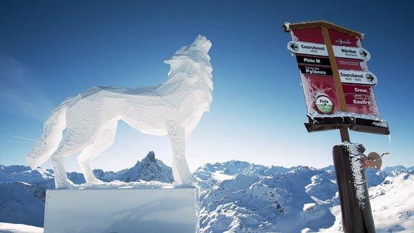 ijssculptuur-meribel-wintersport-frankrijk-interlodge