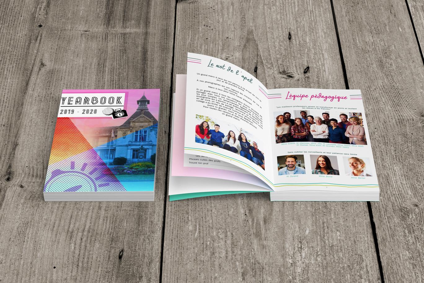 yearbook photo equipe pedagogique