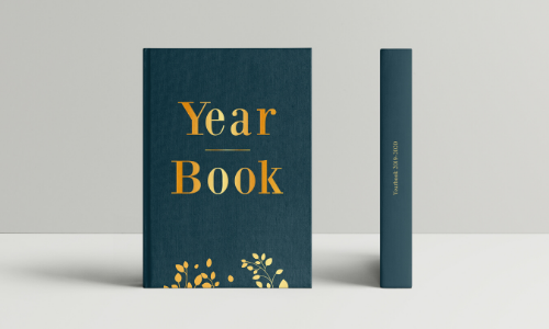 couverture yearbook sobre