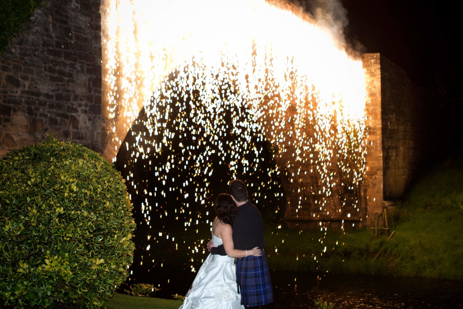 firefall for weddings by 21CC Pyrotechnics Ltd