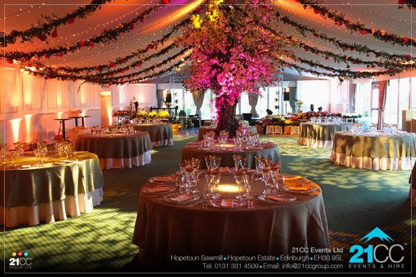 event lighting and feature lighting by 21CC Events Ltd