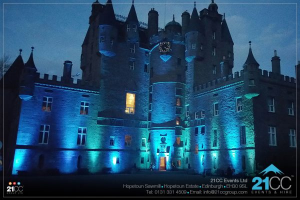 Glamis Castle by 21CC Events Ltd