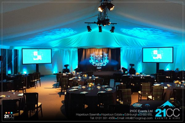 Event design company Edinburgh by 21CC Events Ltd