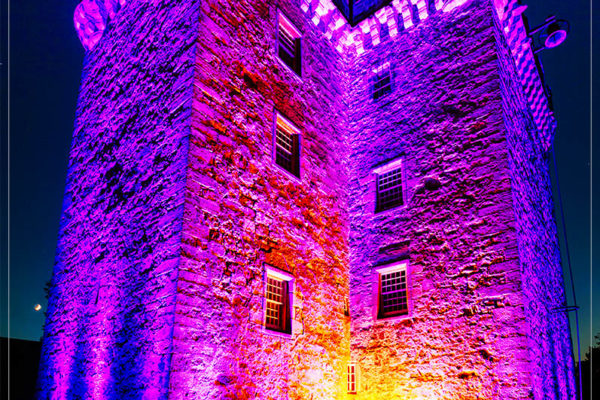 external lighting in edinburgh by 21CC Events Ltd