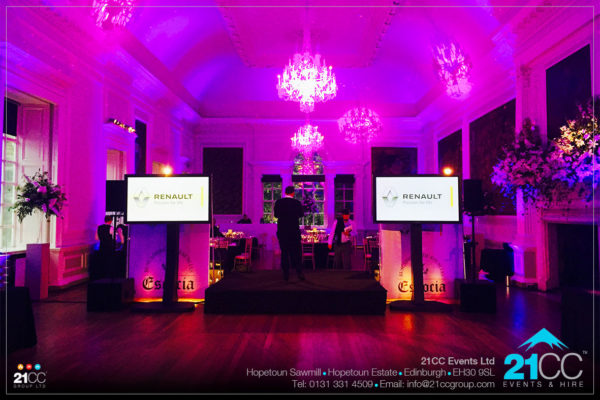 event lighting by 21CC Events