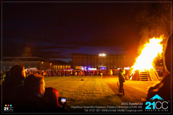 bonfire company scotland by 21cc fireworks
