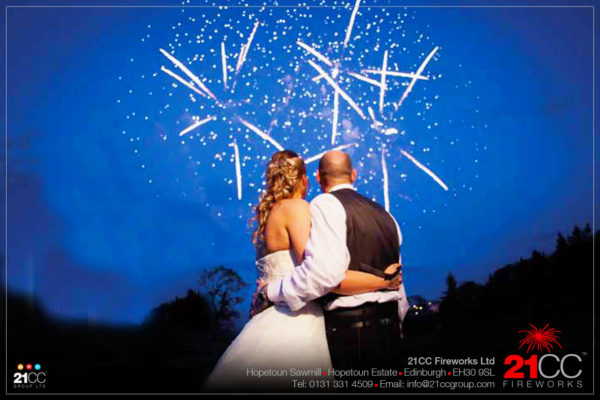 Wedding Fireworks Display With 21CC Fireworks