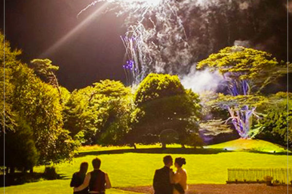 fireworks for weddings in scotland by 21CC Fireworks ltd