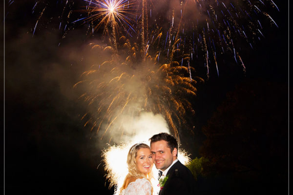 wedding fireworks aberdeen by 21CC Fireworks ltd