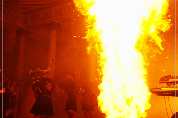 Corporate Events Flames