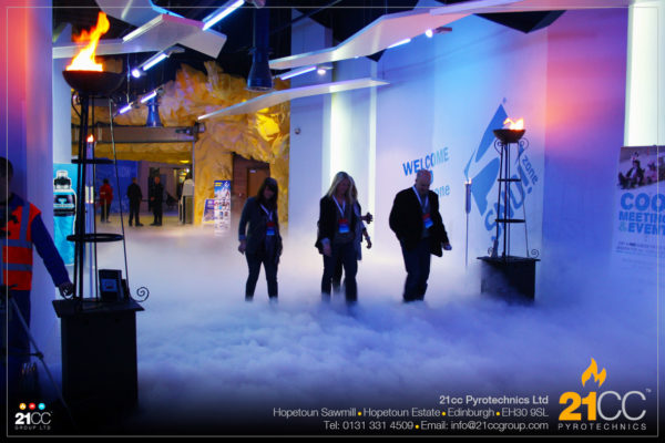 Corporate Events Fog