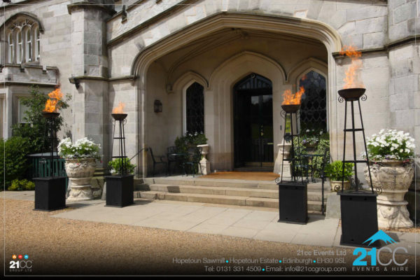 Flambeaux Torches by 21CC Events