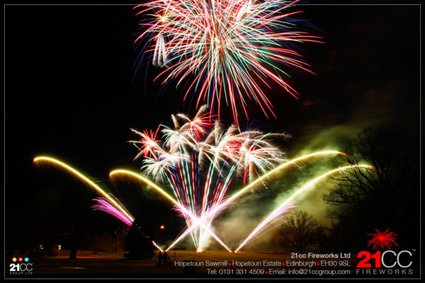 fireworks to music by 21CC Fireworks Ltd