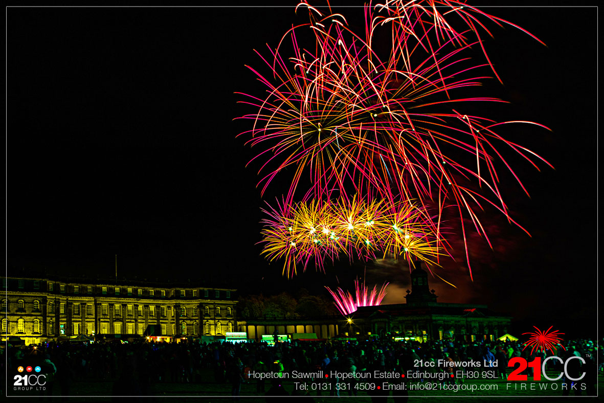 5th November fireworks by 21CC Fireworks Ltd