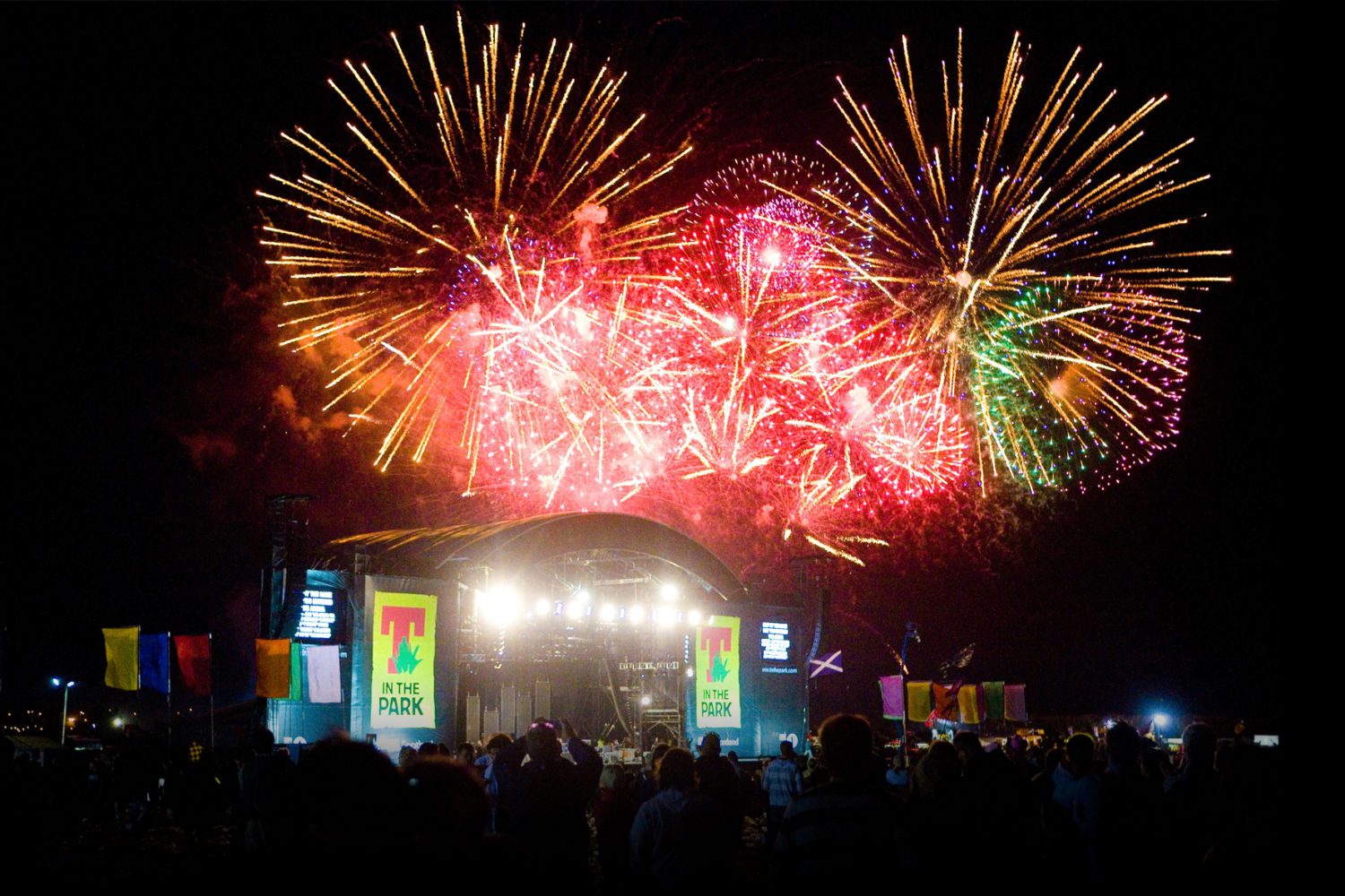 21cc fireworks t in the park festival finale fireworks