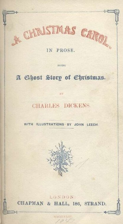 A Christmas Carol By Charles Dickens Read Book Online