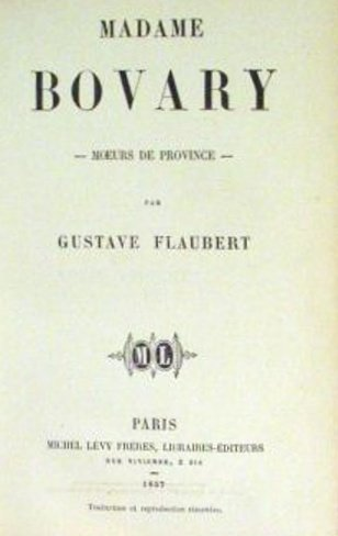 gustave flauberts madame bovary a tale of sensual symbolism I first read this novel a long time ago, and all i really remember, in the most general terms, is the arc of the story with regard to emma bovary, i know how it ends and that's about so far, i've been thinking far more about gustave flaubert and what he's up to than i have about, say, poor charles bovary.