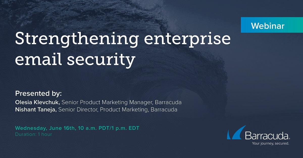 Strengthening enterprise email security