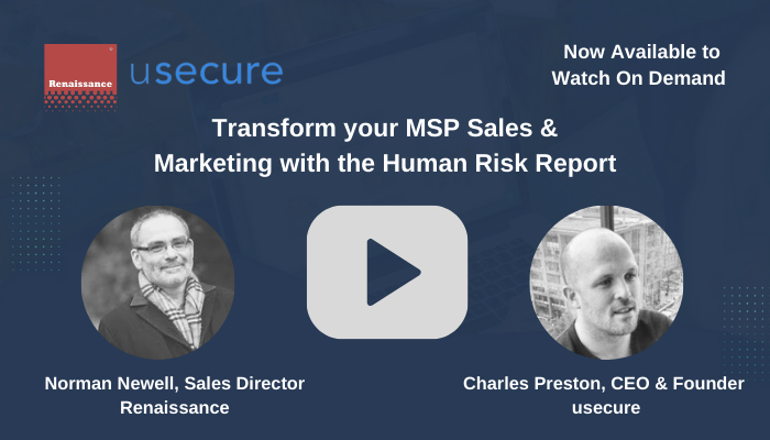 usecure Transform your MSP Sales & Marketing with the Human Risk Report