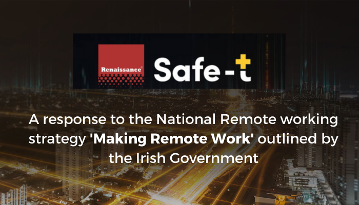 A response to the National Remote Working strategy Making Remote Work outlined by the Irish Government