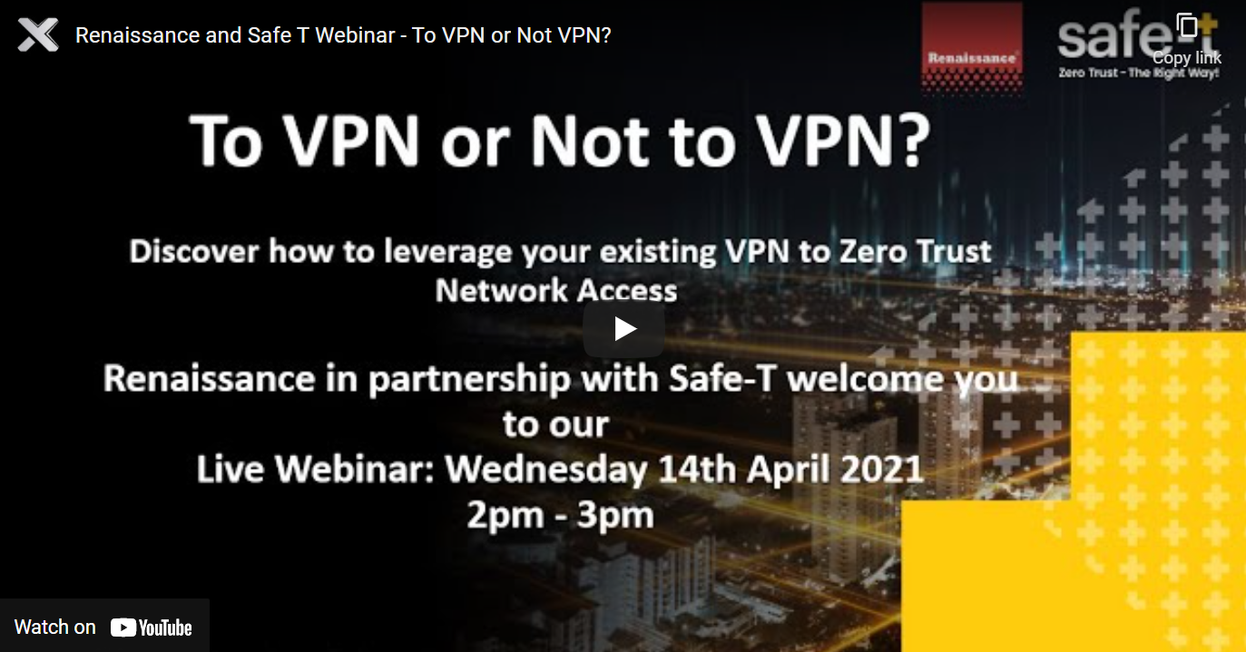 To VPN or Not to VPN