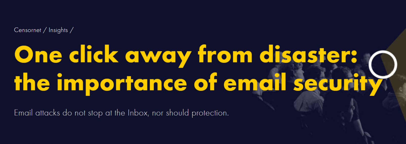 One click away from disaster the importance of email security
