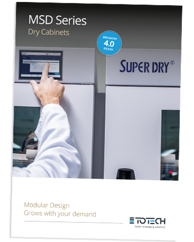 MSD Series drying cabinets flyer