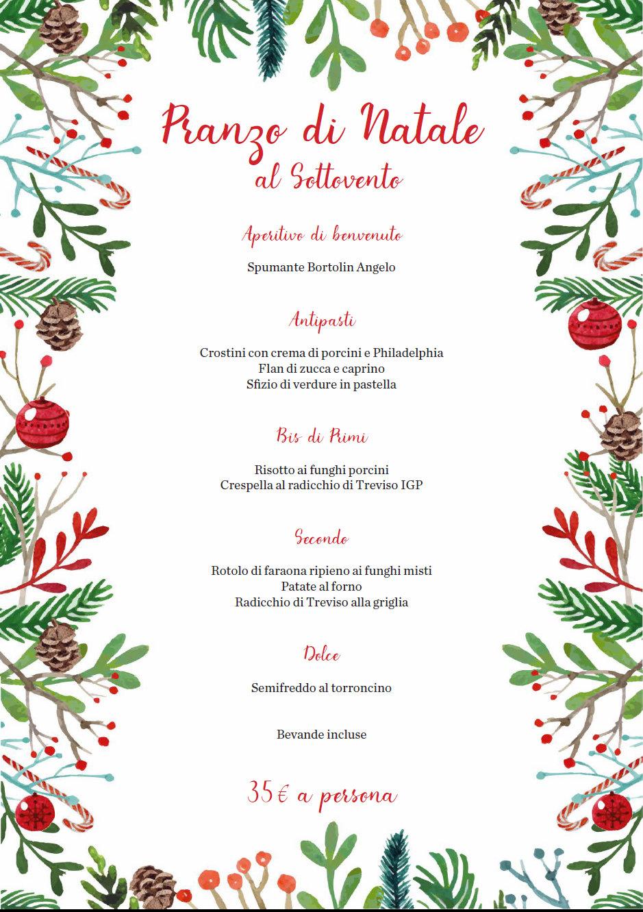 Menu Di Natale Verona.Menu Di Natale 2017 Ristoranti Verona Disegni Di Natale 2019