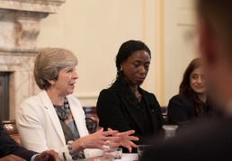 Race disparity round table at No 10.