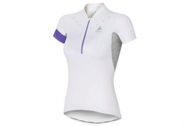 Stand-Up Collar Short Sleeve 1/2 Zip Isola