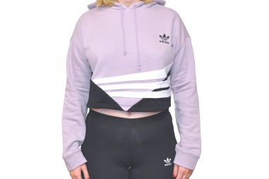 Cropped Hoodie SOFT VISION   Black a387334580