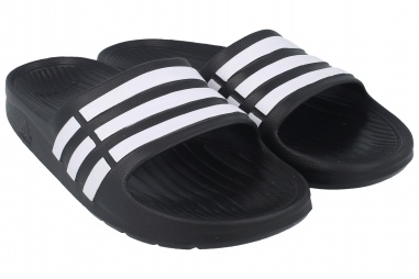 Duramo Slide K/ BLACK 1/RUNNING WHITE FTW/BLACK 1