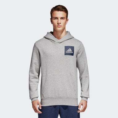 Essentials Logo Hoodie Grey