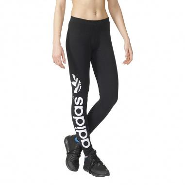 Linear Leggings Black