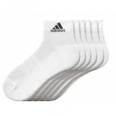 3 Stripes Performance Ankle Half Cushioned 6Pak