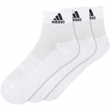 3 Stripes Performance Ankle Half Cushioned