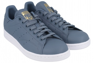 STAN SMITH W RAW STEEL S18/REAL LILAC/RAW GOLD S18