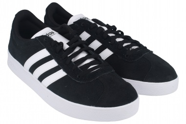 VL COURT 2.0 J BLACK/WHITE