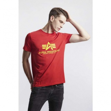 BASIC T SHIRT 328 SPEED RED