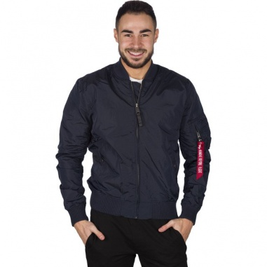 huge discount 7ac47 9225b Alpha Industries NASA JACKET FLIGHT NYLON 07 REP BLUE 186124 ...