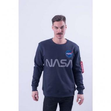 NASA REFLECTIVE SWEATER 07 REP BLUE