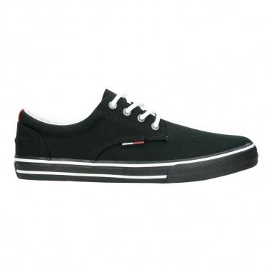 Tommy Jeans Textile Sneaker Black EM0EM00001990 9zEQRp8