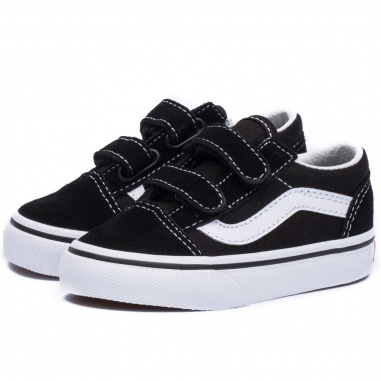 Old Skool Black/White Kids ()