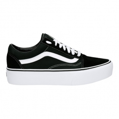 Old Skool Platform Black/White